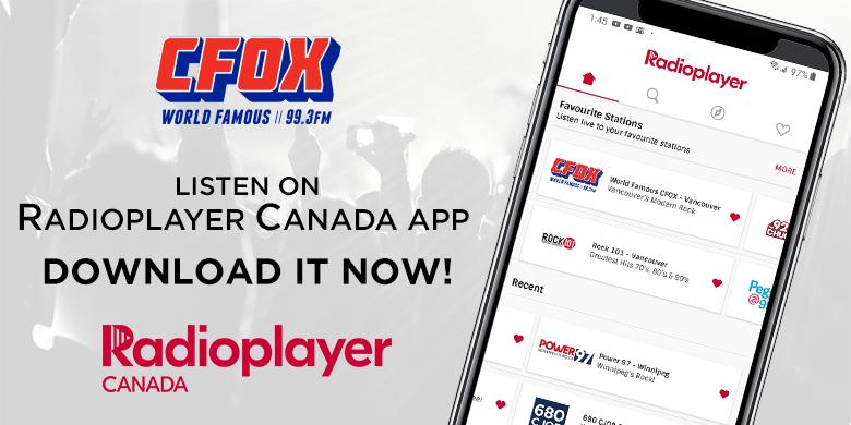 Radioplayer Canada app