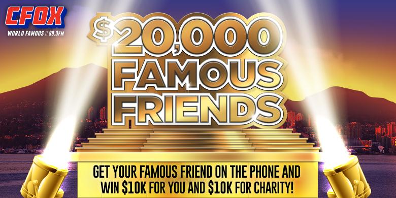 $20,000 Famous Friends