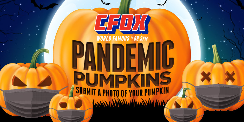 Send us a picture of your Pandemic Pumpkins to win!