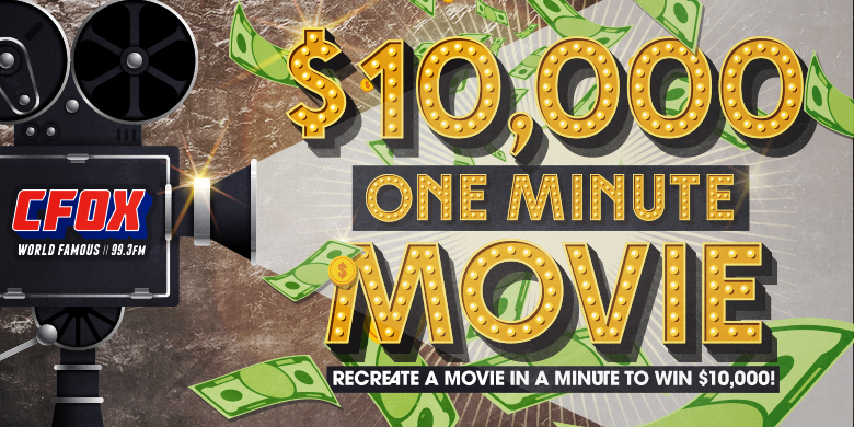 $10,000 One-Minute Movie