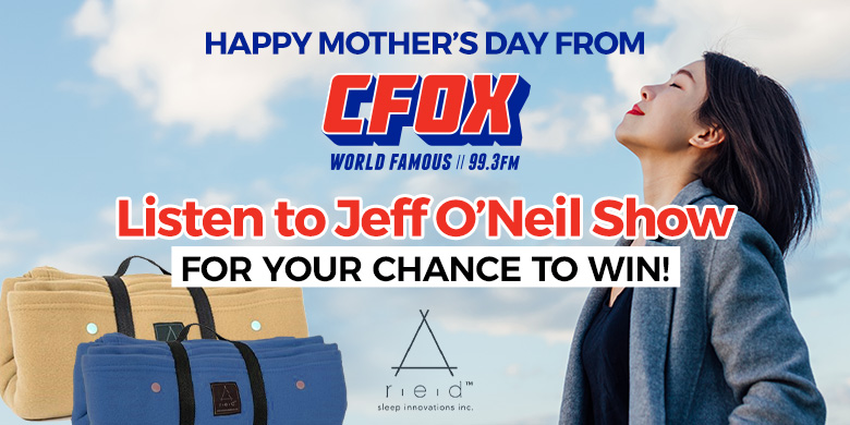 Celebrate Mother's Day with the Jeff O'Neil Show