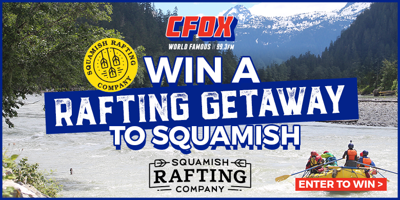 Win a rafting getaway to Squamish